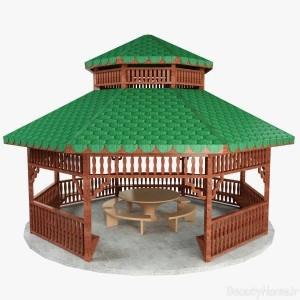 آلاچین چوبی با طراحی مدرن