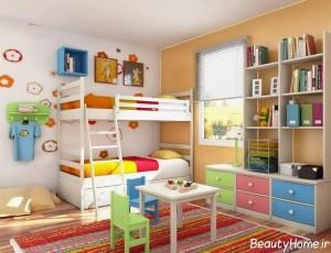 مدل تخت دو طبقه برای کودکان