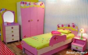 سرویس خواب صورتی برای دختر بچه ها