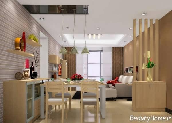 طراحی دکوراسیون سالن پذیرایی