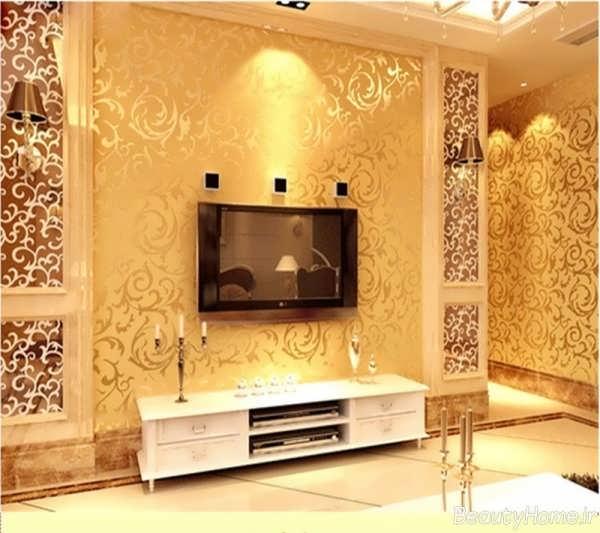 طرح های زیبا و متفاوت کاغذ دیواری