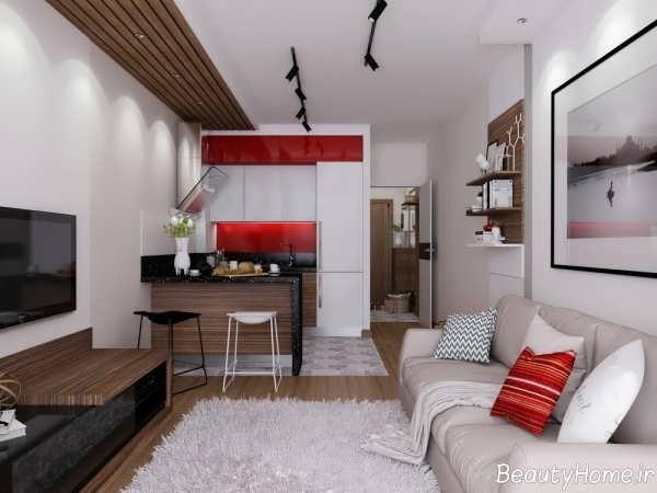 طراحی دکوراسیون مدرن برای منزل