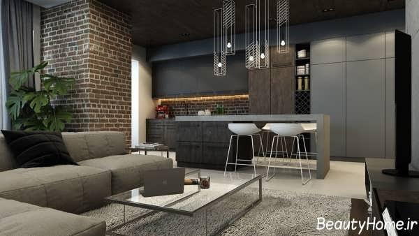 طراحی دکوراسیون داخلی خانه های آپارتمانی