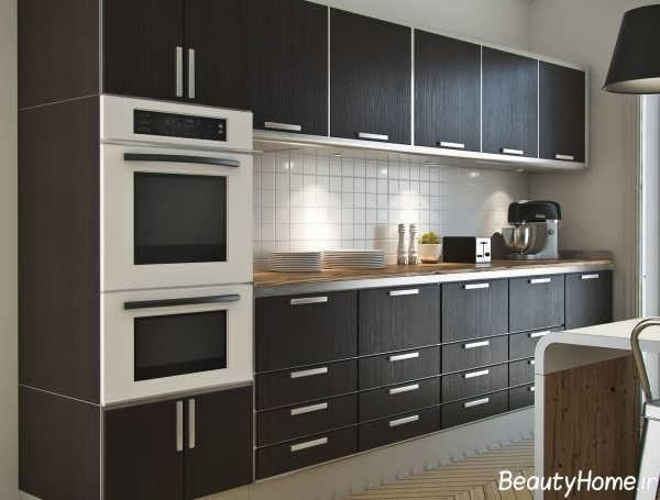 کابینت ساده آشپزخانه