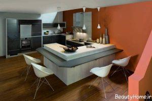 مدل کابینت آشپزخانه شیک و متفاوت