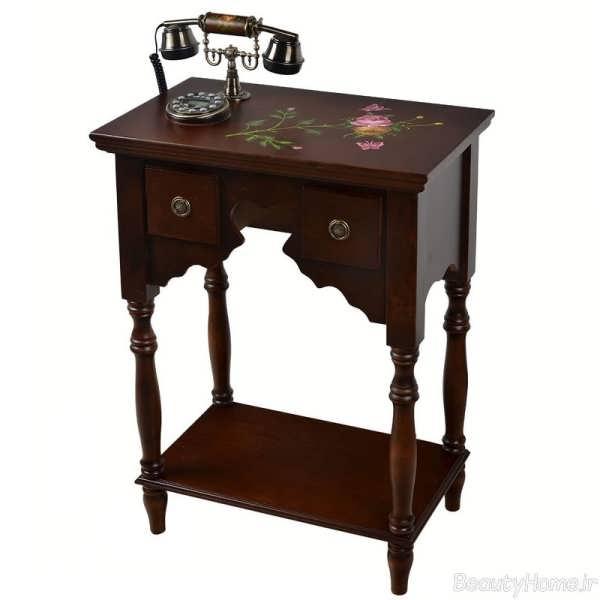 مدل های زیبا و متفاوت میز تلفن