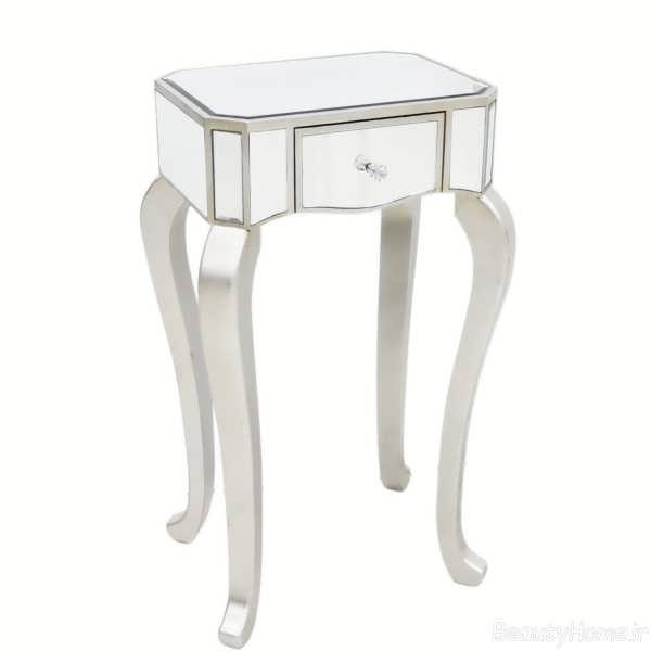 مدل میز تلفن سفید