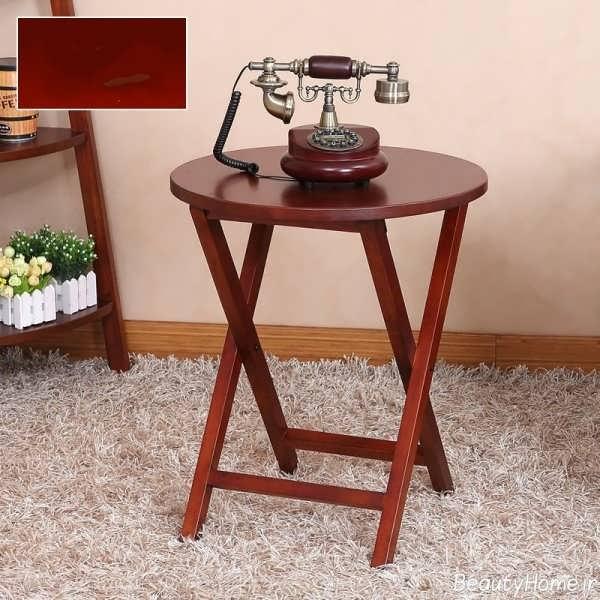 مدل های میز بار: مدل میز تلفن با طراحی های زیبا و متفاوت