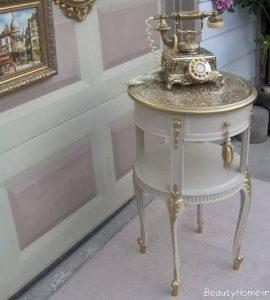 انواع مدل های میز تلفن سلطنتی با طرح های زیبا و متفاوت