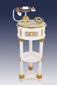 مدل میز تلفن با طرح زیبا و شیک