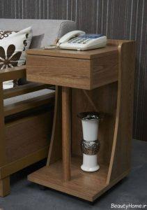 مدل میز تلفن با طرح زیبا و مدرن