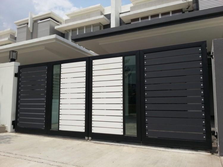 مدل درب حیاط خانه های شیک