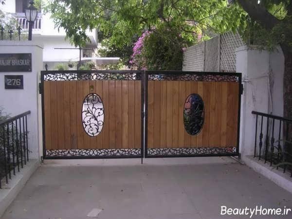 مدل های درب حیاط با طراحی بی نظیر