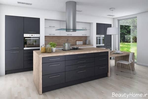 انواع متنوع مدل آشپزخانه های لوکس