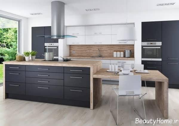 مدل آشپزخانه شیک و مدرن