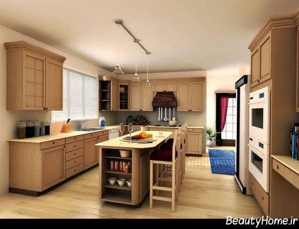 مدل آشپزخانه اروپایی