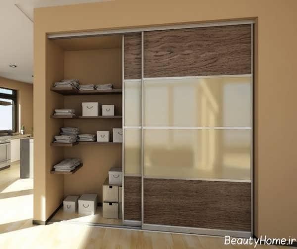 مدل کمد دیواری مدرن با طرح های کاربردی