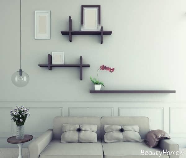 تزیین ساده و خاص دیوار