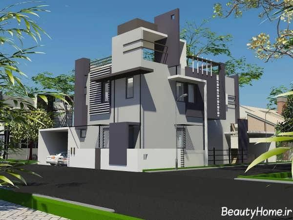 عکس های طراحی نمای ساختمان های مدرن و لوکس