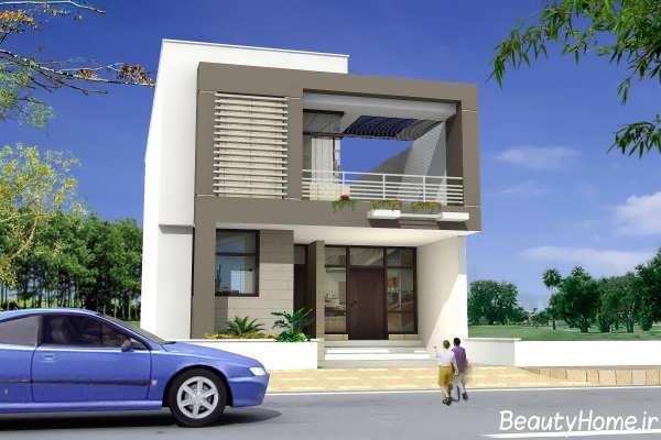 نمای ایده آل و جذاب ساختمان