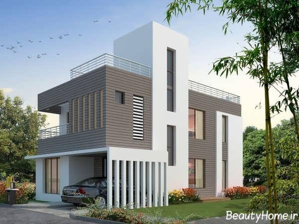 نمای ساختمان با طراحی بی نظیر