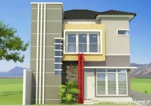 طراحی نمای ساختمان زیبا