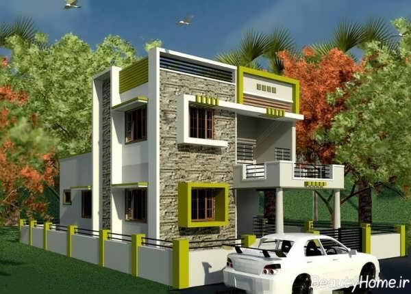 طراحی نماهای زیبا و شیک برای ساختمان