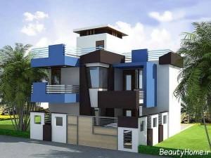 دیزاین نمای ساختمان زیبا
