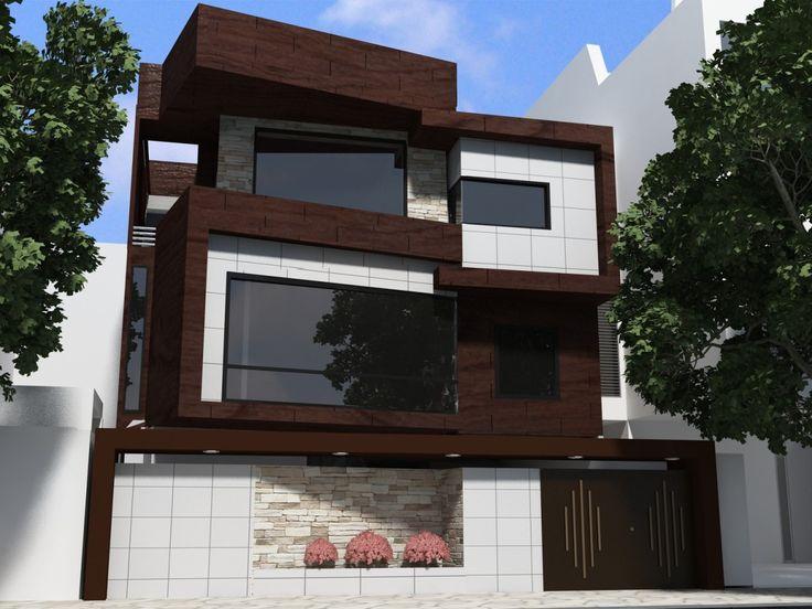 تصاویر طراحی نمای ساختمان لوکس