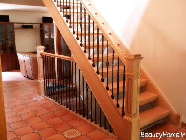 مدل نرده راه پله با انواع طرح های استیل و چوبی, دکوراسیون داخلی ...... انواع نرده های چوبی و زیبا برای راه پله ها ...