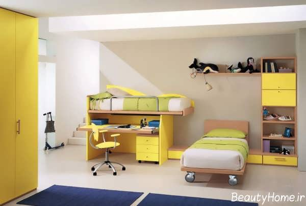تخت و کمد مدرن