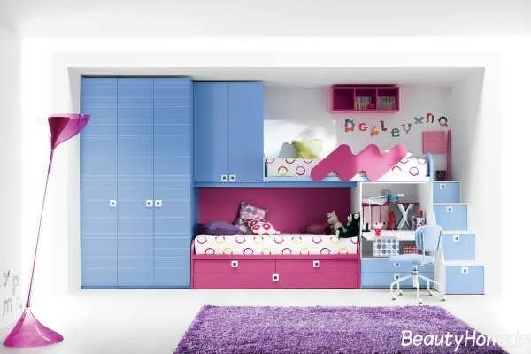 تختو کمد با طراحی بی نظیر برای اتاق نوجوان