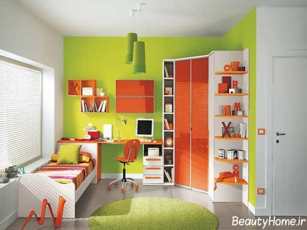 انواع مدل های زیبا تخت و کمد با طراحی بی نظیر برای نوجوانان