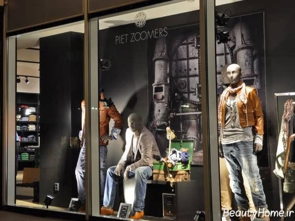 دکوراسیون ویترین مغازه پوشاک