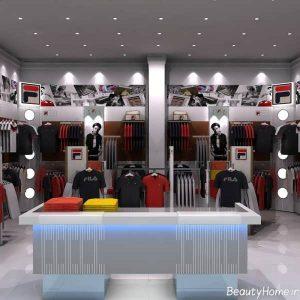 دیزاین دکوراسیون شیک و مدرن برای پوشاک