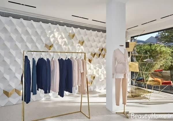 دیزاین دکورسیون مغازه پوشاک