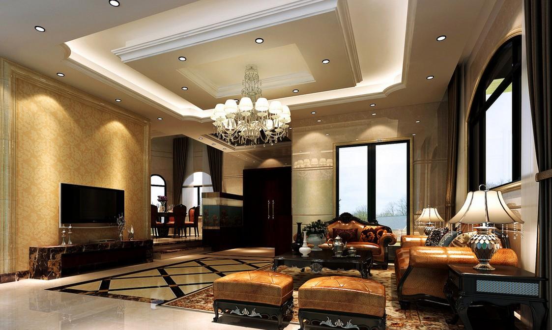 دکوراسیون داخلی خانه های بزرگ: دکوراسیون کلاسیک و لوکس برای خانه های ویلایی