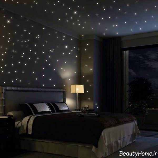 تزیین رمانتیک اتاق خواب عروس