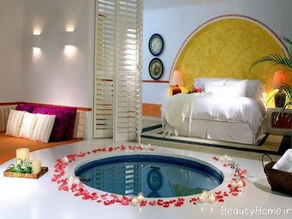 تزیین اتاق خواب به صورت فانتزی