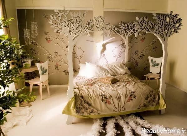 تزیین ایده آل اتاق خواب دو نفره