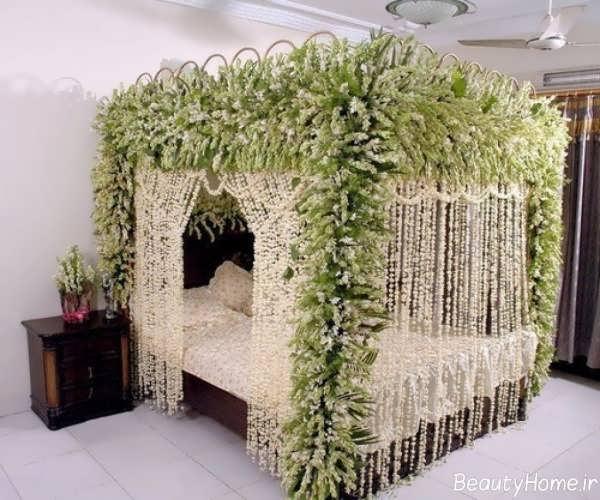 تزیین ایده آل و متفاوت اتاق خواب عروس