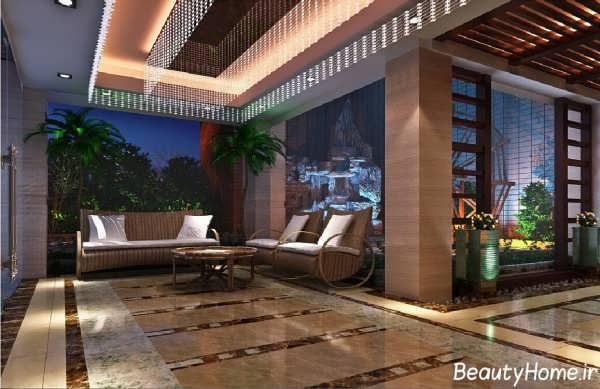 طراحی زیبا و جدید برای هتل