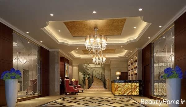 طراحی لابی هتل های لوکس