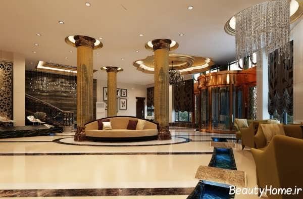 تصاویر طراحی هتل و طرح های لابی هتل های لوکس و مجلل