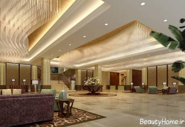 دیزاین لابی های هتل