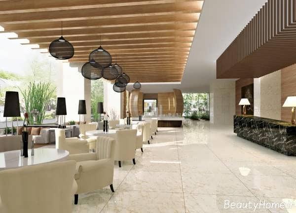 طراحی های لابی هتل