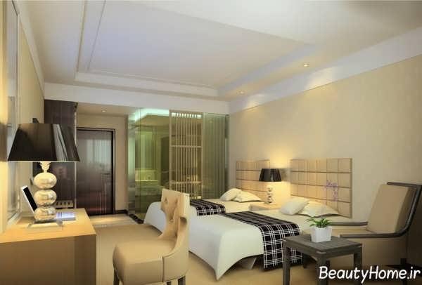 طراحی دکوراسیون اتاق خواب های هتل