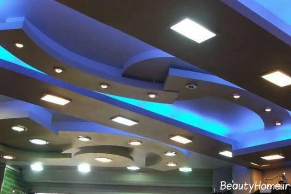 طرح کناف برای سقف های مدرن
