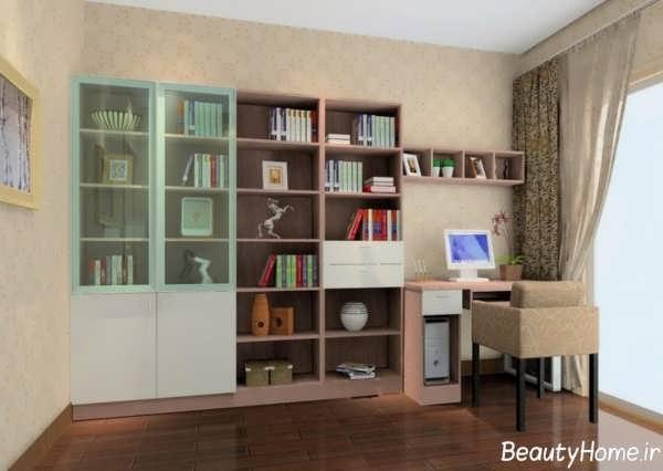طراحی کتابخانه ام دی اف