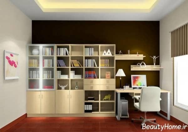 کتابخانه زیبا و بی نظیر ام دی اف
